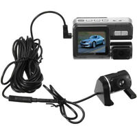 "HD Dual Lens 2"" Car DVR Dash Cam Vehicle Rearview Camera Video Recorder ZP"