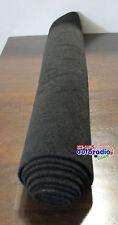 Bespannstoff Bezugstoff Moquette Stoff SCHWARZ  100x150cm