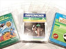 10 Intellivision Video Game Clear Case Cases Sleeve Box Protector Protectors CIB