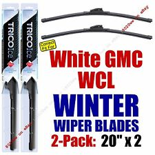 WINTER Wiper Blades 2pk Premium fit 1991-1993 White GMC WCL - 35200x2