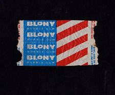 "TOPPS 1950'S ""BLONY"" SMALL BUBBLE GUM WRAPPER!"