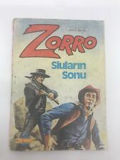 ZORRO #6 - 1980s 80s - Foreign Comic Book - VERY RARE - 5.5 FN-