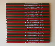 "1980s SET OF 24 VINTAGE SOVIET USSR PENCILS ""KONSTRUKTOR"" M88 CONSTRUCTOR NO BOX"