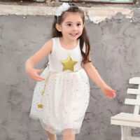 Toddler Floral Girl Princess Dress Baby Party Wedding Pageant Tulle Tutu Dresses