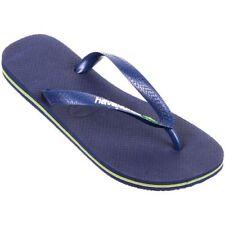 Sandalias y chanclas de hombre en color principal azul de goma