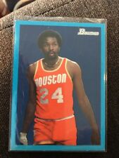 2009 Bowman Blue Border Parallel #95 Moses Malone 1471/1948 Houston Rockets