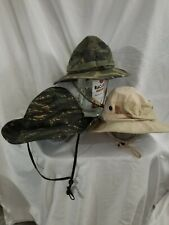 camo hat lot of 3 army hot type 2 jungle