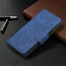 Zipper Wallet Leather Flip Case Cover For iPhone 12 Pro 11 XR XS Max 6S 7 8 Plus
