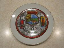 Vintage Souvenir Collector Arkansas State Plate 7 1/2 inch