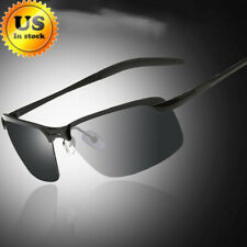 Men's Polarized Sunglasses causal Sport Eyewear Driving Pilot Sun Glasses Black