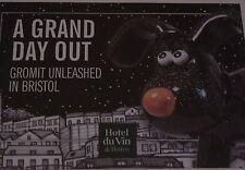 GROMIT UNLEASHED Wallace and Gromit HOTEL DU VIN 2013 Bristol AARDMAN rare