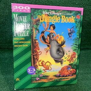 Disney The Jungle Book Movie Poster Puzzle 2x3 Feet 300 Pieces 100% Complete