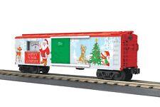 O-Gauge - MTH - Christmas Box Car w/ Power Meter