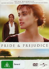 Pride And Prejudice - Romance / Family / Drama - Keira Knightley - NEW DVD