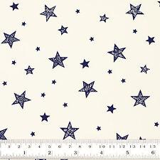 Cotton Print Fabric Fat Quarter Star & Sky Shirt Dress Quilting Patchwork VK115