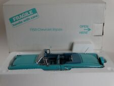 Danbury Mint 1958 Chevy Impala Convertible 1:24 Scale Diecast Metal Model Car