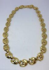 Hermoso Collar Chapado en Oro Vintage Cabouchon