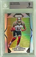 Chris Godwin 2017 Panini Prizm Silver Base Rookie #243 BGS 9 Mint