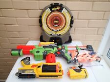 Nerf Guns and Target Board Bundle