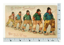Brundage Dutch Boys Postcard | Tuck Valentine Series 103 | UDB