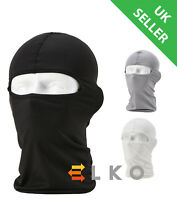 Genuine ELKO® Black Balaclava Mask Under Helmet Winter Warm Airsoft Neck Warmer