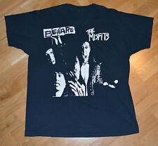RaRe *1980s THE MISFITS* vtg original punk-rock concert shirt XL Danzig Samhaim