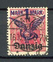 Danzig MiNr. 52 Vollstempel Infla geprüft (H105