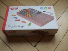 Master logic Spiel von goki aus Holz ab 7 Jahre