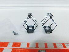 BZ328-0, 5 #2x märklin H0 Type 22.2/685130 Pantograph/Sta for Z B.37224, Mint