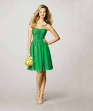 70% off Short Dress ALFRED ANGELO BRIDESMAIDS 7143 Color: Gold Size: 10