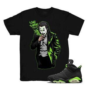 Joker Unisex T-Shirt To Match Air Jordan 6 Retro Electric Green, Air Jordan 6