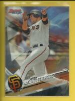 Buster Posey 2017 Bowman's Best Card # 26 San Francisco Giants Baseball MLB
