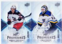 17-18 UD Ice Ville Husso /1299 Rookie Premieres Blues Upper Deck 2017