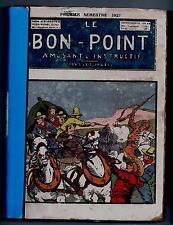 LE BON POINT album éditeur 1er semestre 1927. n°736 à 761.