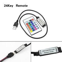24 Keys USB IR Remote Controller for RGB 5050 Flexible Led Flexible Strip Light