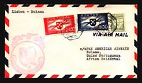Portugal 1941 First Flight Cover Lisbon to Bolama - Z17829
