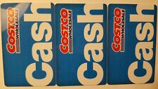 Costco Gift Card Costco Cash Card - Lot of 3 ~$0.02 Value