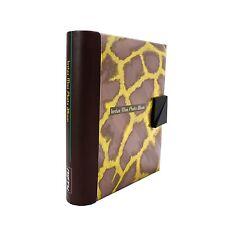 NIFTY Instax Mini & Polaroid 300 Photo Album (Copper/Yellow Giraffe) NEW ARRIVAL