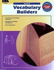 Vocabulary Builders for Struggling Readers Grades 4-5 Language Arts