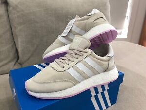 New w Tags Adidas I-5923 BOOST Womens Running Shoes US 7 Trainers Sneakers