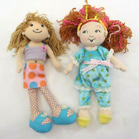 Fancy Nancy Pajamas by Jakks & Groovy Girl Kayla Stuffed Plush Doll 12""
