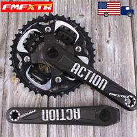 US 104/64BCD 170mm 24/32/42t Crankset MTB Bike Chainring Crank Aluminum CNC