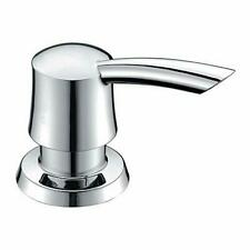GICASA Bathroom Kitchen Sink Soap Dispenser, Polished Chrome Deck Mount Soap