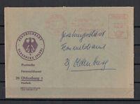 BRD, Postsache Freistempel Fernmeldeamt Oldenburg 05.08.1965