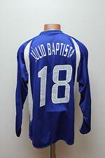 CHARITY MATCH WORN AGAINST POVERTY 2004/2005 FOOTBALL SHIRT ADIDAS BAPTISTA #18