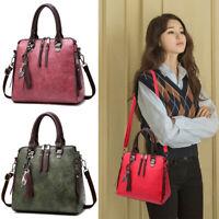 Faux Leather Handbags Women Shoulder Messenger Satchel Tote Crossbody Bags Purse