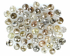 Natural Loose Diamonds Round Brown Fancy Mix Color I1-I2 Clarity 1.00 CtLot NQ16