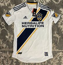 Adidas MLS LA Galaxy 2018/19 5 Stars Home Authentic Soccer Jersey Mens Sz Medium