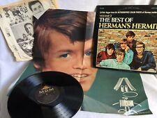 The Best of Herman's Hermits Vol 2 MGM Records LP SE-4416 Poster Vintage 1966