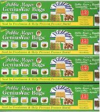 Debbie Meyer GeniusVac / Reynolds Handi-Vac Gallon Size Bags 4 Boxes (48 Bags)